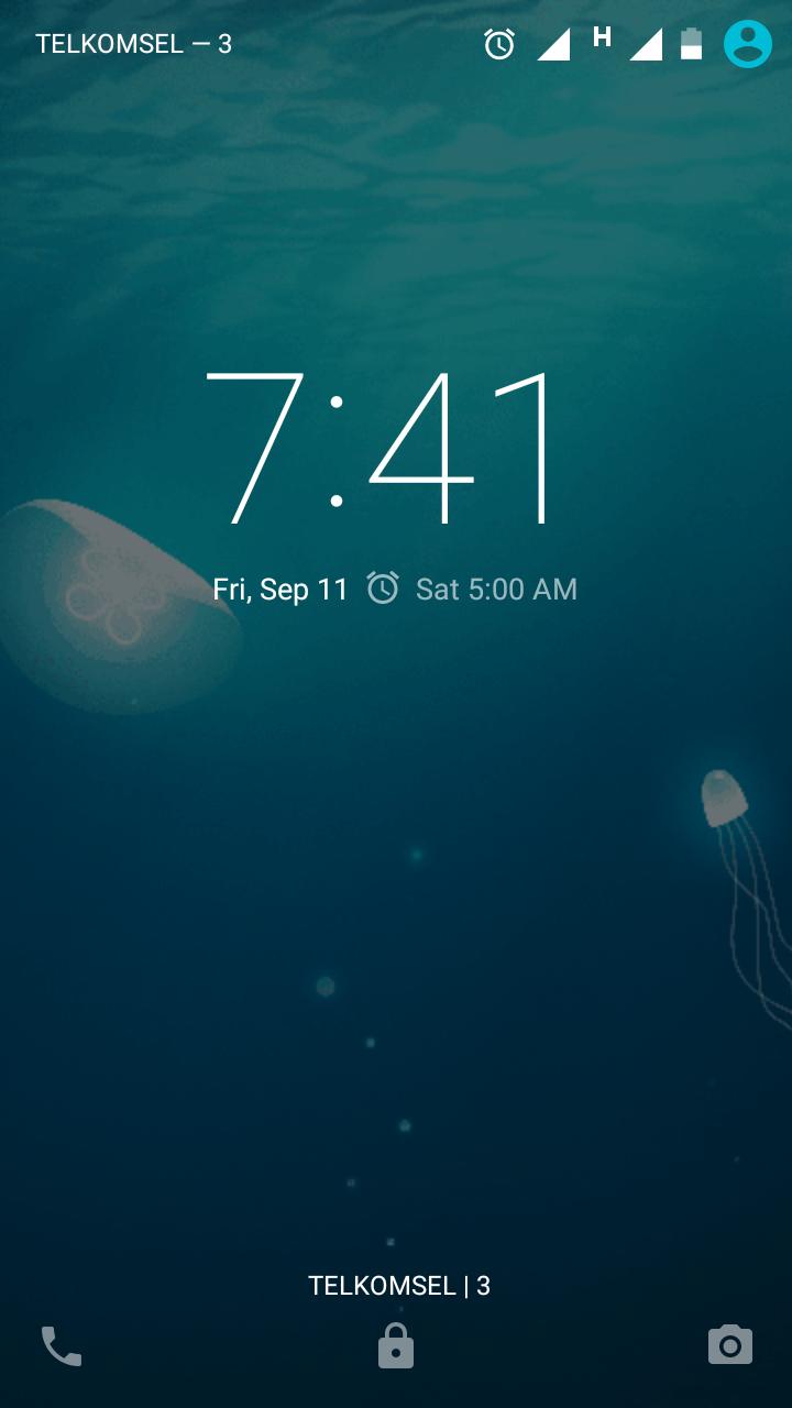 Interface Moto G
