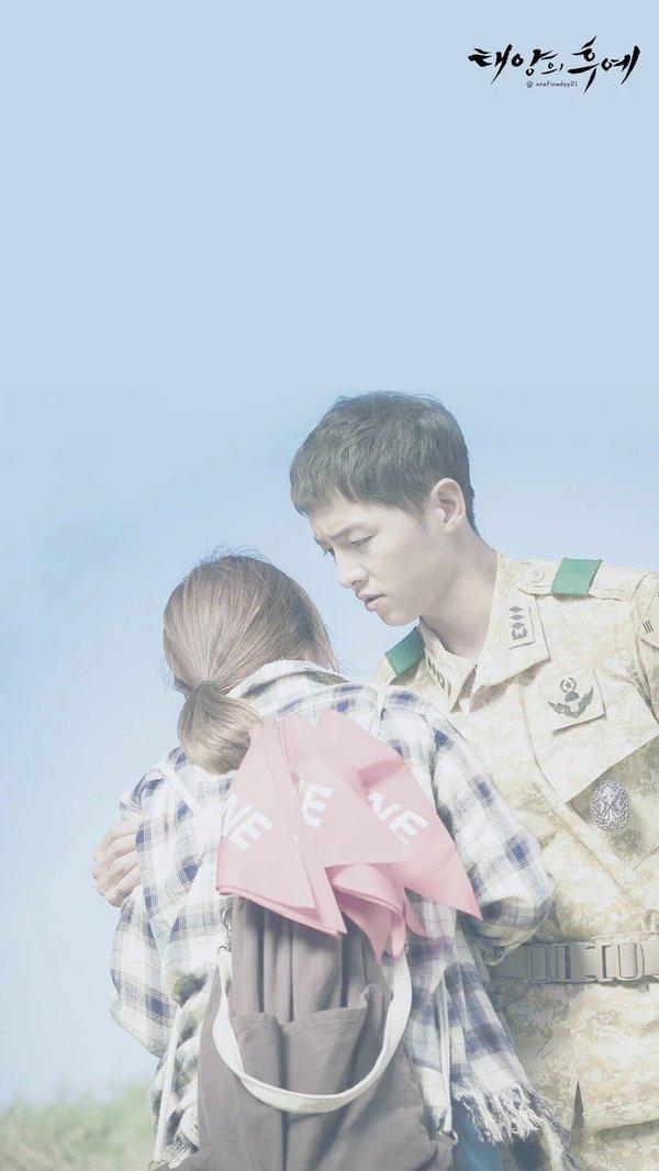 Wallpaper Smartphone Kapten Yo Si Jin Dan Dr Kang Moyeon Love