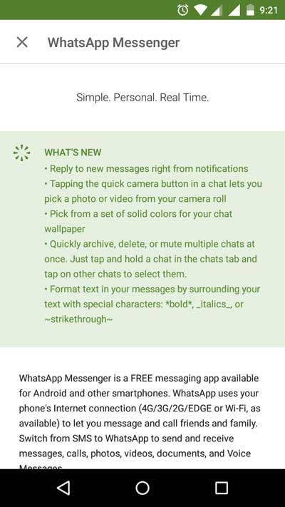 Cara membuat font Bod, Italic, Strikethrough WhatsApp