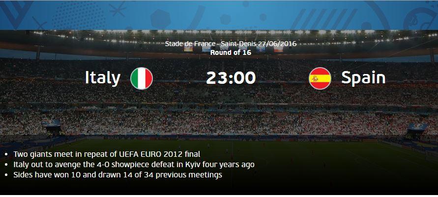 Prediksi Pertandingan Italy vs Spanyol