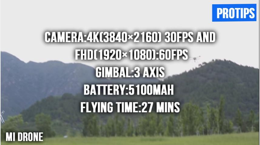 Gambar Spesifikasi Xiaomi Mi Drone