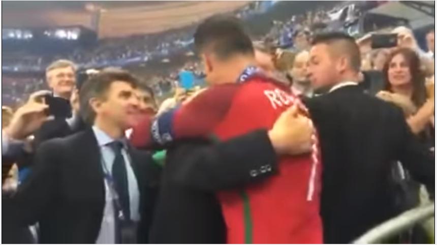 Gambar Ronaldo dan Ferguson Euro 2016