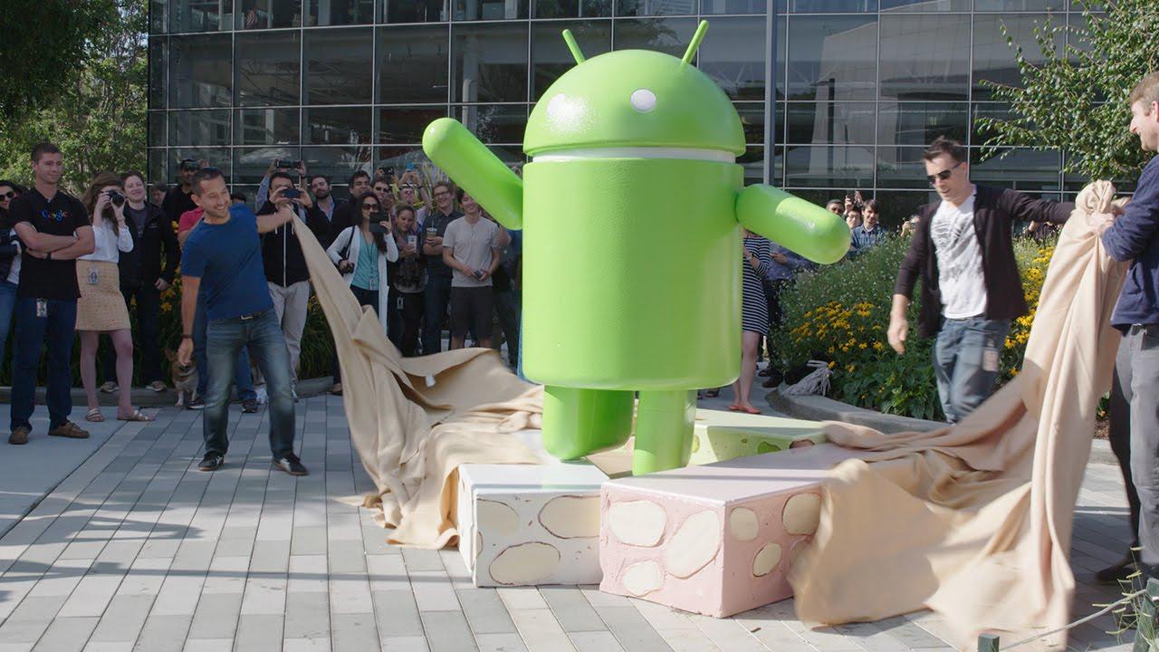 Gambar Android 7.0 Nougat