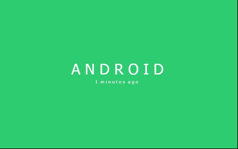 Cara Membuat Format Waktu 1 Minutes Ago, Yesterday, 2 Days Ago di Android