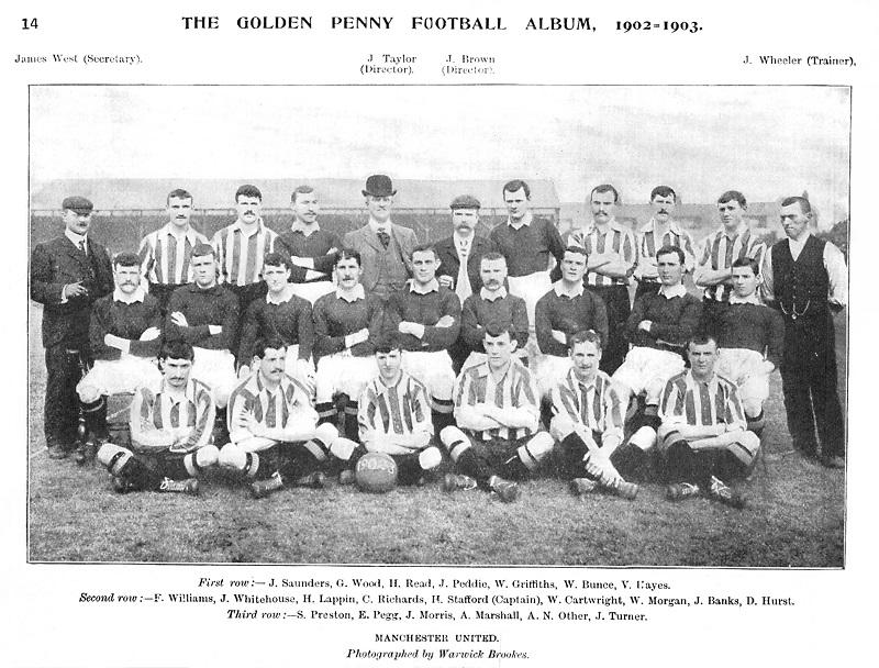 Manchester United pada tahun 1902