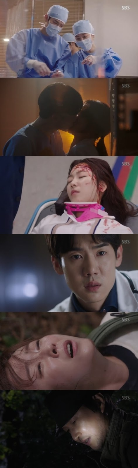 Scene-scene antara Kang Dong-Joo dan Yoon Seo-Jung via soompi