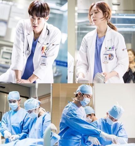 Dokter-dokter dalam Romantic Doctor Teacher Kim via soompi